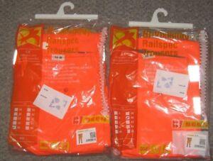 B-Seen Rail Spec Hi Vis Trouser Orange Size 32R/34R /38/ 40R & uk 26R Ladies