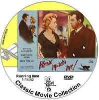 Please Murder Me - Angela Lansbury, Raymond Burr film DVD 1956