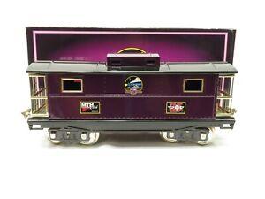MTH 10-2110 Standard Gauge 200 Series Purple w/brass trim caboose MTHRRC LN