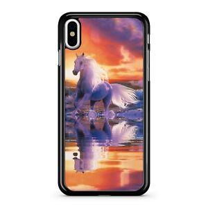 Majestic Magical Enchanted Elegant Unicorn Reflective Ocean Phone Case Cover