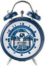 Star Wars R2-d2 Mini Twin Bell Horloge Bleu