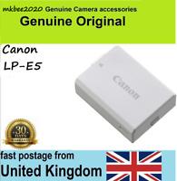 Genuine Original Canon battery LP-E5 EOS 450D 500D 1000D Rebel XS XSi Kiss F X3