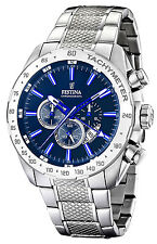 Festina Men's Wristwatch Dual Time Chronograph Chrono F16488/B