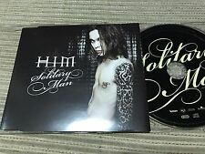 HIM - SOLITARY MAN CD SINGLE 1 TRACK PROMO BMG FINLAND 2004 GOTH ROCK