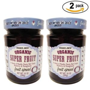 Trader Joe's Organic Super Fruit A Blend of Morella Red, Cherry  Grape (2 pack)