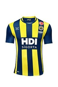 Fenerbahce Volleyball Men Striped Match Jersey Official Licensed DHL Express