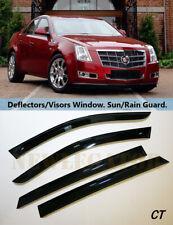 For Cadillac CTS SD 2007-2014, Windows Visors Deflector Sun Rain Guard Vent