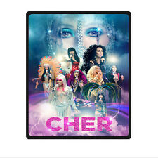 """special edition Cher D2k Tour Blanket 58"""" x 80"""" (Large) throw"""