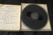 Elvis Presley reel to reel recorded tape, everything listed with timed.