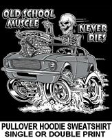 American Muscle Chevy Chevelle Nova SS Drag Racing Hot Rod Hoodie Sweatshirt