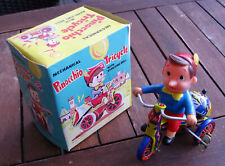 Vintage; Mechanical Pinocchio Tricycle; Extrem selten, OVP