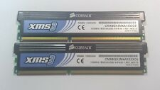 4GB (2x 2GB) PC3-10600 Corsair XMS3 Memory Kit DDR3 RAM 1333MHz Desktop DIMMs