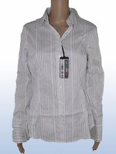 oviesse business donna camicia bianco righe taglia it 46 xl extra large