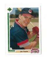 1991 UPPER DECK FINAL EDITION #17F JIM THOME RC UD ROOKIE