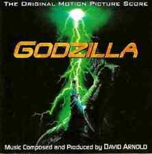 """David Arnold:  """"Godzilla + Godzilla 2000 """"   (Soundtrack Score CD)"""