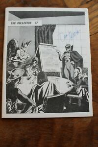 Signed The Collector Fanzine #17 & 18  Don Newton