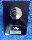 The Snowman 50p 2020⛄️Brilliant Uncirculated & CERTIFIED BU 50p Sealed Card #3