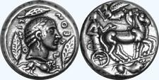 Apollo and Charioteer, Son of Zeus, Greek Coin Percy Jackson Teen Gift (PJ27-S)