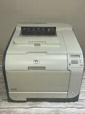 HP COLOR LASERJET CP2025 PRINTER -- TOTAL PAGES PRINTED 47,982 -- TESTED/WORKS