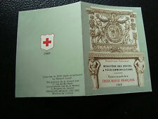 FRANCIA - carnet cruz roja 1969 (sello n ) (cy30) stamp french
