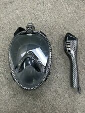 Preowned Seavenger Nautilus Full Face Snorkel Mask with Breathing System