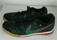 Nike Rare 5 Gato Men's Size 9 Indoor Soccer Shoes 415123-030  Leather GREEN RED