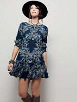 Free People Smooth Talker Floral Print Tunic Dress 10 variations and colours