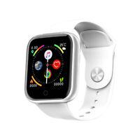 Smart Watch Bluetooth Heart Rate Oxygen Blood Pressure Sport Fitness Tracker,New