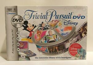 TRIVIAL PURSUIT DVD DISNEY EDITION BOARD GAME 100% COMPLETE VGC/FREEPOST