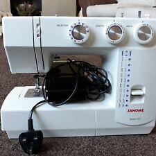 janome sewing machine used