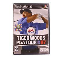 Tiger Woods PGA Tour 07 PS2 Golf Game