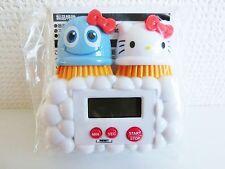 Scrubbing Bubbles Hello Kitty Collaboration Timer SANRIO Rare limited F/S JAPAN