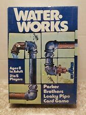 VINTAGE 1976 PARKER BROTHERS WATER WORKS LEAKY PIPE GAME NOS NIB STILL SEALED