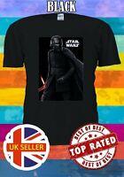 Star Wars Logo Rise Of Skywalker Kylo Lightsaber Men Women Unisex T-shirt 3388