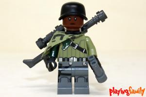 LEGO SUPER HEROES - Elite Soldat VI - Figur aus LEGO®-Teilen - MOC, Soldier