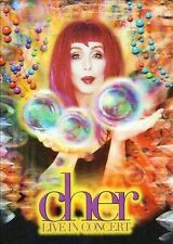 *Cher Live In Concert (DVD, 1999) NICE SHAPE