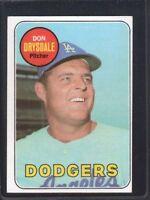 1969 Topps Don Drysdale #400 Baseball Card