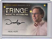 Fringe 3 & 4 Cryptozoic Autograph A17 Neal Huff