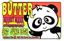 Butter Money Mark 1996 Original San Francisco Concert Poster by Frank Kozik S/N