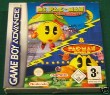 Videogame GAME BOY ADVANCE MS.PACMAN & PACMAN WORLD