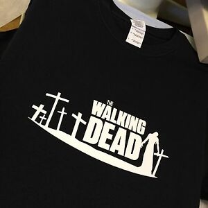 The Walking Dead Inspired Zombie T-Shirt, Season 8, Birthday Or Christmas Gifts!