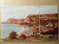 1925 Used SIDMOUTH, FROM THE FLAGSTAFF. AR QUINTON POSTCARD,No.1798 + STAMP