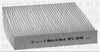 BFC1040 BORG & BECK CABIN AIR FILTER fits Fiat Sedici, Suzuki Swift 05-
