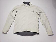 Women's North Face Apex Bionic Softshell Jacket Coat Cream White Size Medium
