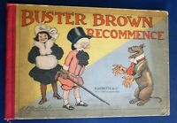 BUSTER BROWN RECOMMENCE. R.F. Outeault. Hachette 1908. EO. TBE