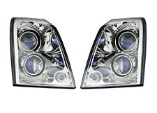 Left Right Genuine Headlights Headlamps Pair Set No HID for Caddy STS 05-11 GM