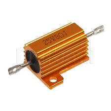 25W 8ohm Wirewound Power Resistor Aluminum Hosing Chasis Mount
