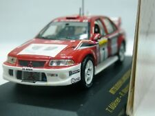 WOW EXTREMELY RARE Mitsubishi Lancer Evo6.5 Makinen Winner M.Carlo 2001 1:43 Ixo