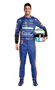 Daniel  New McLaren racing printed suit Replica All size available