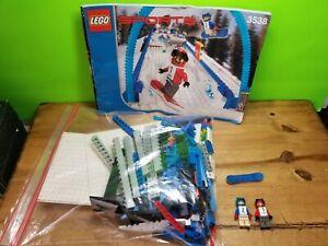 Lego Sports Gravity 3538 Snowboard Boarder Cross Race 99% Complete w/Instruction